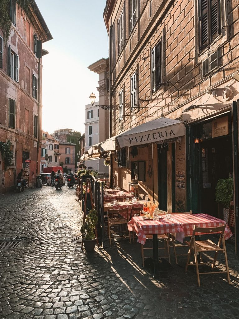 Trastevere em Roma -Photo by Fineas Anton on Unsplash